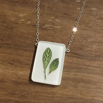 Nerve Leaves Necklace