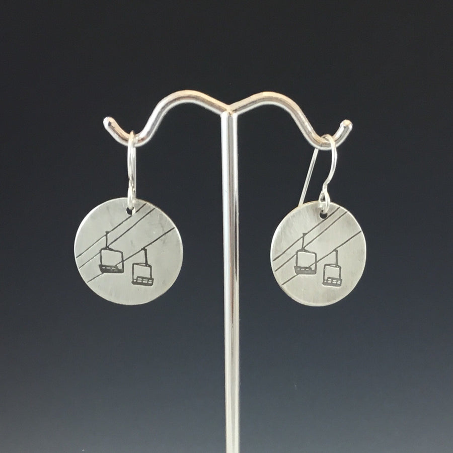 Chairlift Earrings