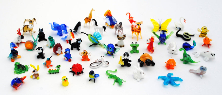 Miniature Glass Animals