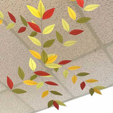 Modern Autumn Leaf Mobile