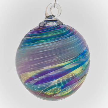 Blue Feather Ornament