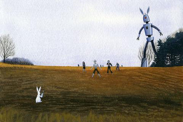 Rabbit Summons Robot