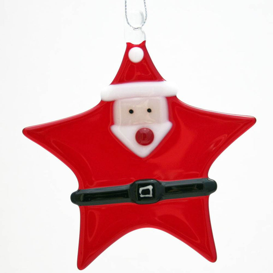 Star Santa Ornament