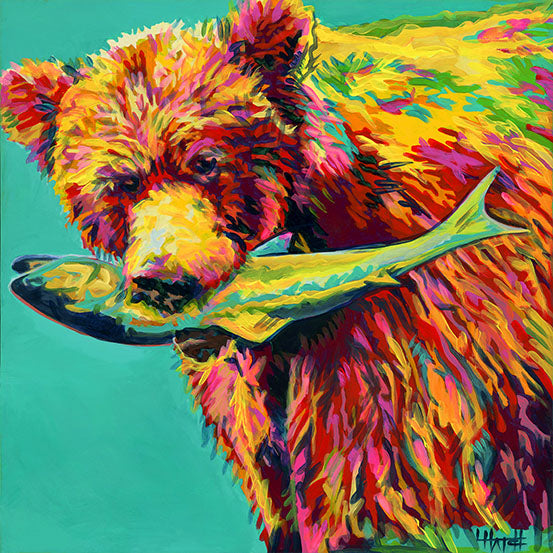 Thorofare Bear original painting