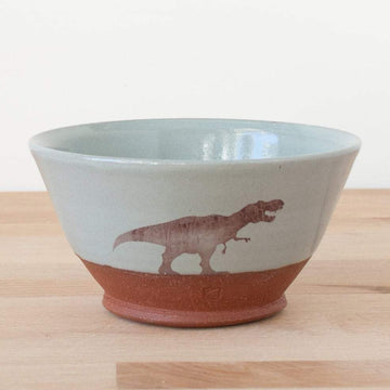 Bowl - T-Rex - Blue/Grey