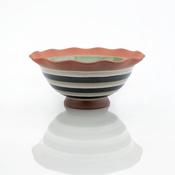 Wavy Lip Serving Bowl