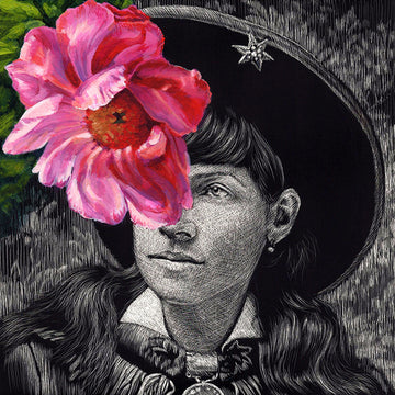 Annie Oakley with Peony