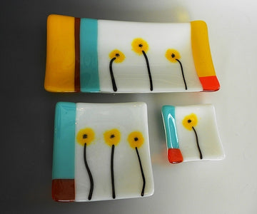 Yellow Poppy Dishes