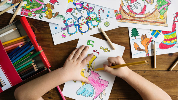 Why Don't Younger Kids Color Within The Lines in Coloring Books?