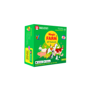 Magic Farm 4D Flashcards for Kids