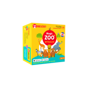 Magic Zoo 4D Flashcards for Kids