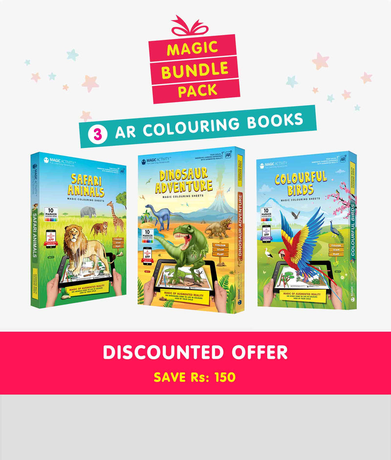 Magic Bundle Pack <br> AR Coloring Books