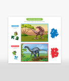 Majestic Dinosaurs<br>Magic Jigsaw Puzzles