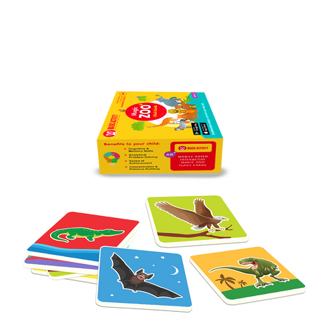 Magic Zoo- 4D+ Flashcards