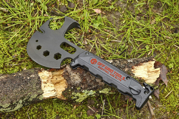 "The Off Grid Survival Axe Elite (Made in USA) a.k.a. ""Lil Trucker™"""