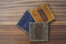 Leather Coasters - DAD