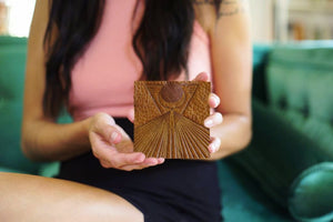 Leather Coasters - In Five Design Options