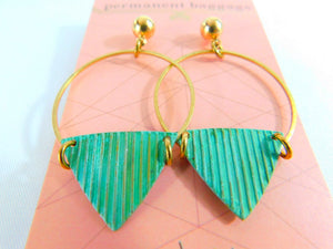 Brass Patina Earrings - Large Assortment