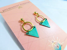 Brass Patina Earrings - Medium Assortment