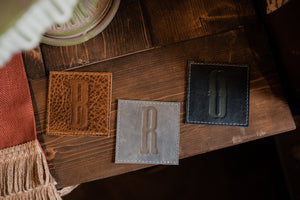 Leather Coasters A Ready To Ship Brother Gift