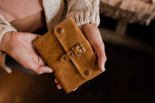 Leather Passport Holder And Wallet - Personalized