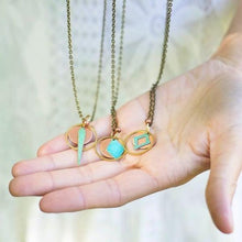 Brass Patina Necklace - Small Assortment