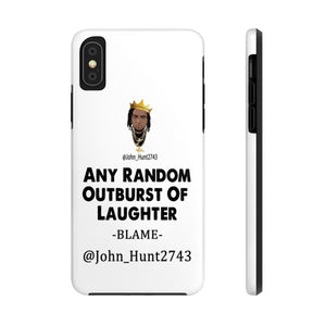 Any Random Outburst Of Laughter Cell Phone Case
