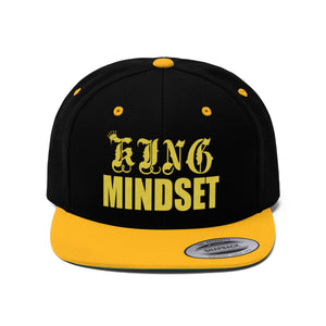 King Mindset Unisex Flat Bill Hat