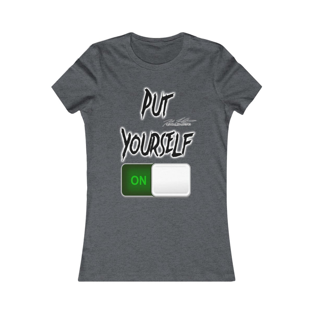 Put Yourself On T-Shirt (Women's)