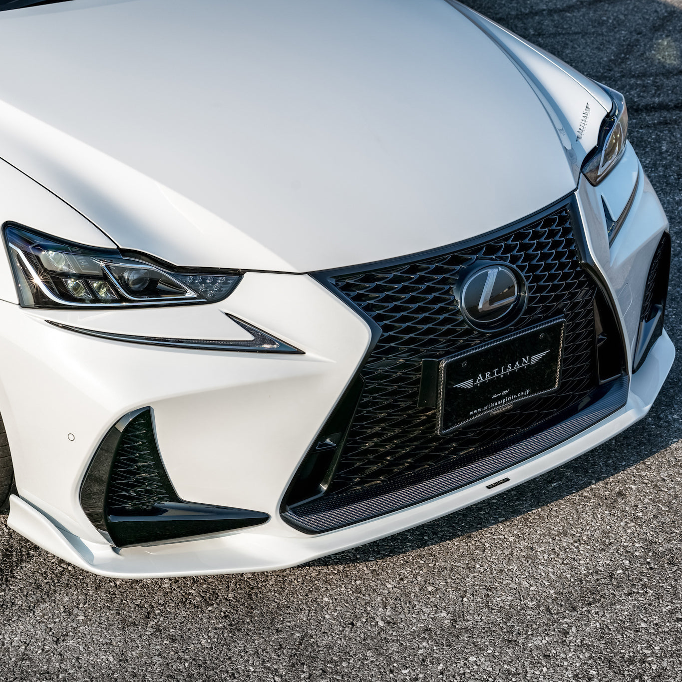 Artisan Spirits Lexus IS F Sport Front Grille Garnish