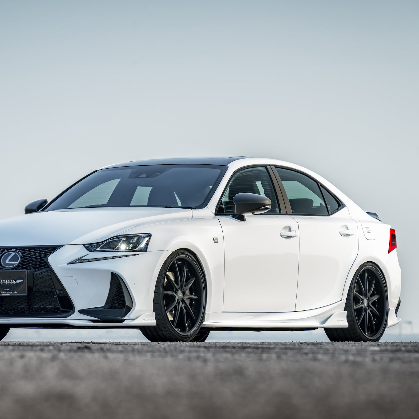 Artisan Spirits Lexus IS F Sport Side Lip Spoilers
