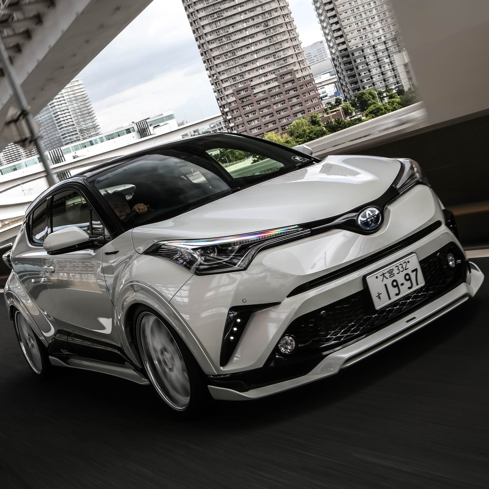 Artisan Spirits Toyota C-HR Sports Line BLACK LABEL Aero Kit