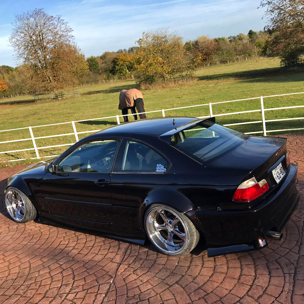 Hm Sports Bmw E46 Coupe Roof Spoiler