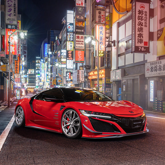 Artisan Spirits Honda NSX 2017+ Sports Line BLACK LABEL Aero Kit
