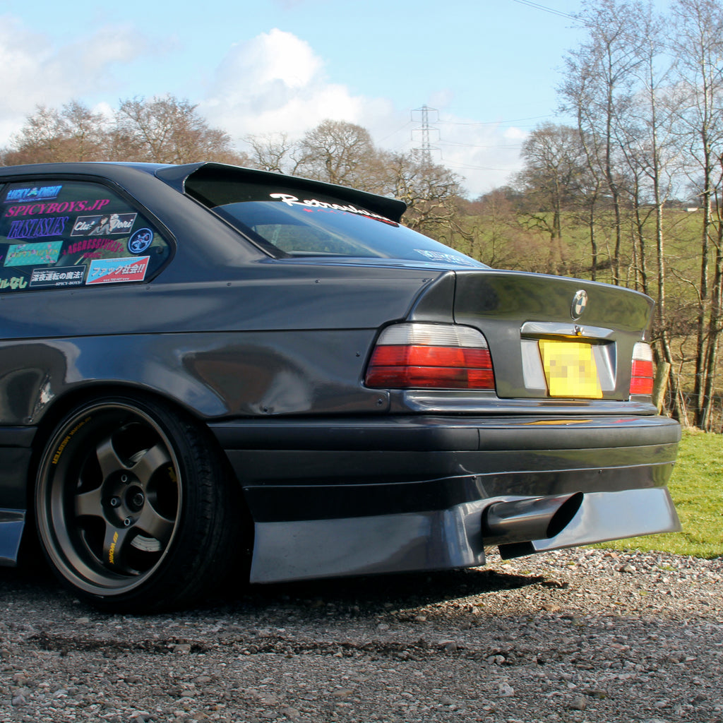 HM-Sports BMW E36 Rear Lip