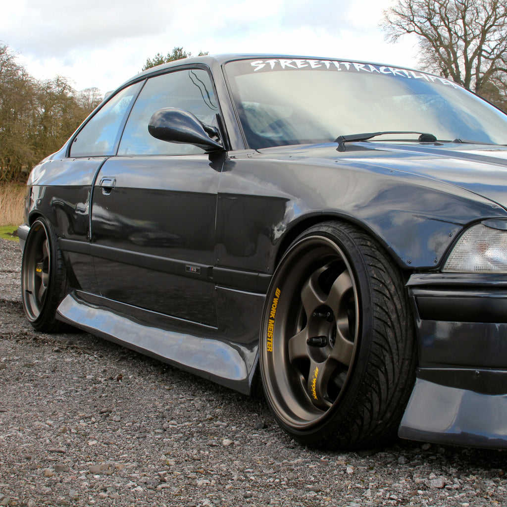 HM-Sports BMW E36 Coupe Side Skirts