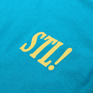 STL! 2018 T-Shirt (Turquoise/Yellow)