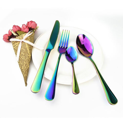 iTensils™ Black Onyx Flatware - Looker Gifts