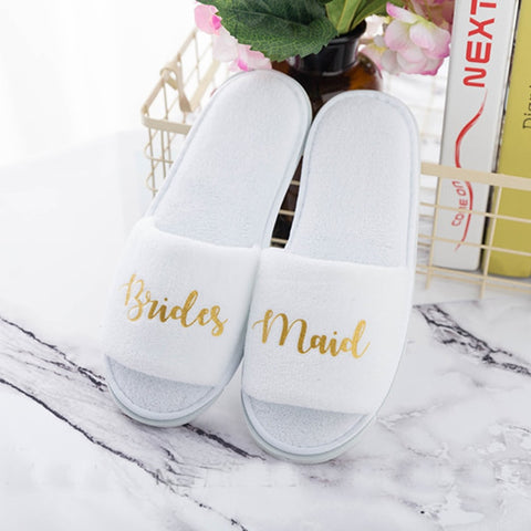 Wedding Slippers - Looker Gifts