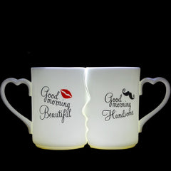 Lovers' Porcelain Tea Cups
