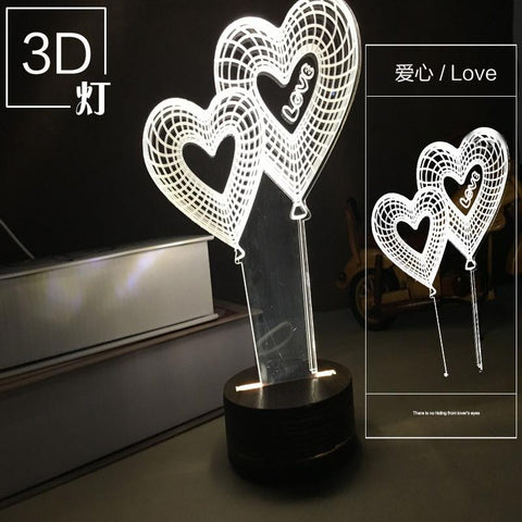 3D Illusion Unicorn Lamp - Looker Gifts