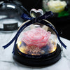 Image of Preserved Rose in Glass Dome - Looker Gifts