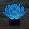 Image of 3D Lotus Flower Table Lamp - Looker Gifts