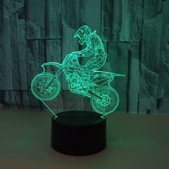 3D Motorcycle Light