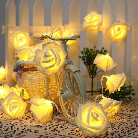 20 LED Rose String Lights - Looker Gifts