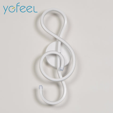 Treble Clef Wall Lamp - Looker Gifts