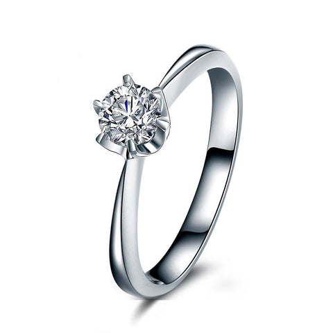 Kissing Doves Engagement Ring - Looker Gifts