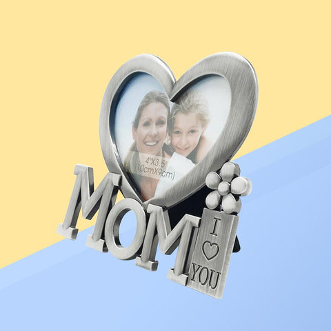 13x12cm  I Love You Mom Photo Frame - Looker Gifts