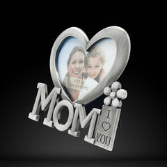 13x12cm  I Love You Mom Photo Frame