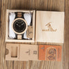 Image of Antique Bamboo Watch with Wooden Band - Looker Gifts